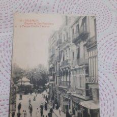 Postales: POSTAL ANTIGUA BLANCO Y NEGRO VALENCIA. Lote 267284574
