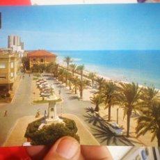 Cartes Postales: POSTAL VINAROZ CASTELLÓN PASEO MARÍTIMO N 20 COMAS ALDEA 1972 ESCRITA Y SELLADA. Lote 267775769