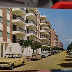 Postales: GANDIA PLAYA MIRAMAR GARRABELLA 37 ESCRITA COCHES CLÁSICOS ANIMADA. Lote 268876144