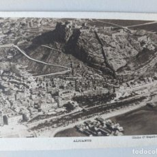Postales: POSTAL ALICANTE VISTA - CLICHE COMPAÑIA ESPAÑOLA DE AVIACION. Lote 269136278