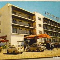 Postales: POSTAL HOTEL AGIR BENIDORM COCHES --CM. Lote 269174413