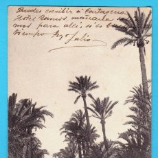Postais: ELCHE. CAMINO DE LOS MOLINOS. P.Z. 10077. CIRCULADA CON SELLO EN 1904.. Lote 269229333