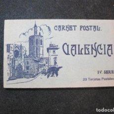 Postales: VALENCIA-BLOC CON 20 POSTALES ANTIGUAS-SERIE IV-JDP-VER FOTOS-(81.654). Lote 269298798