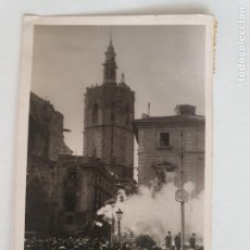 Postales: VALENCIA - DISPARO DE UNA TRACA - P52144. Lote 269304713
