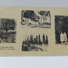 Postales: TARJETA POSTAL DE VALENCIA. LA CASA DEL ANGEL. FUENTE LA HIGUERA. FOTOTIPIA DE HAUSER Y MENET.. Lote 269372158