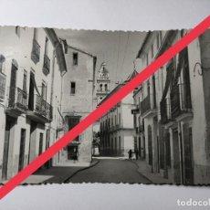 Cartes Postales: ANTIGUA FOTOGRAFÍA POSTAL DE CARCAGENTE, CARCAIXENT. VALENCIA. CALLE SAN LORENZO.. Lote 269385713