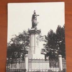 Postales: CASTELLON MONUMENTO AL REY DON JAIME POSTAL ORIGINAL ANTIGUA SIN CIRCULAR. Lote 269495618
