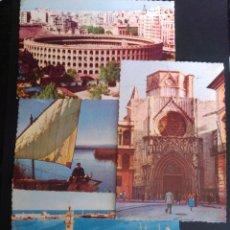 Postales: LOTE DE 4 POSTALES DE VALENCIA.. Lote 270098413
