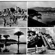Postales: BENIDORM - MULTI-VISTAS - FOTO MARVELLÍ Nº 72 - 152X99 MM,. Lote 270150203