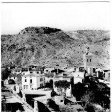 Postales: PUEBLA DE ARENOSO (CASTELLÓN) - VISTA PARCIAL Y VÍA CRUCIS - ED. COMAS ALDEA 1002 - 151X101MM.. Lote 270151948