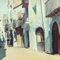 Postales: CASTELLON PEÑISCOLA CALLE TIPICA. ED. JOSÉ MARIA SUBIRÁ Nº 511. AÑOS 50. SIN CIRCULAR. Lote 270957678