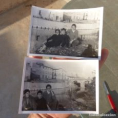 Postales: ANTIGUA FOTOGRAFIAS DEL DESAPARECIDO PONT DE BENIARBEIG , ALICANTE. Lote 274272728
