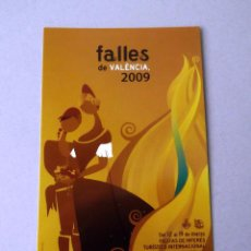 Postales: POSTAL, CARTEL FALLAS, AÑO 2009, ESTADO PERFECTO, SIN CIRCULAR.. Lote 274596418