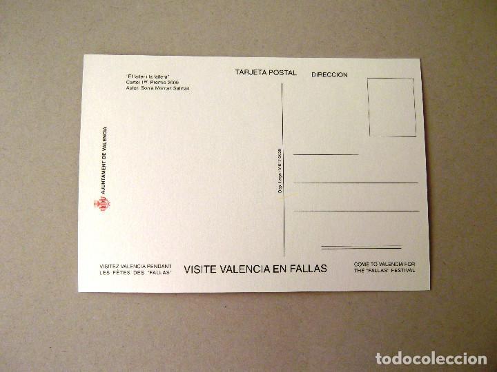 Postales: POSTAL, CARTEL FALLAS, AÑO 2009, ESTADO PERFECTO, SIN CIRCULAR. - Foto 2 - 274596418
