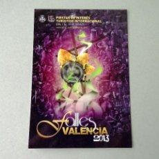 Postales: POSTAL, CARTEL FALLAS, AÑO 2013, ESTADO PERFECTO, SIN CIRCULAR.. Lote 274596513