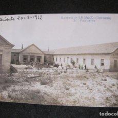 Postales: BALNEARIO DE LA SALUD-ONTENIENTE-PATIO CENTRAL-ANDRES FABERT-ESPERANTO-POSTAL ANTIGUA-(82.466). Lote 274618173