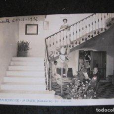 Postales: BALNEARIO DE LA SALUD-ONTENIENTE-ESCALERA-ANDRES FABERT-ESPERANTO-POSTAL ANTIGUA-(82.467). Lote 274618223
