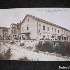 Postales: BALNEARIO DE LA SALUD-ONTENIENTE-VISTA GENERAL-ANDRES FABERT-ESPERANTO-POSTAL ANTIGUA-(82.468). Lote 274618308