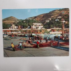 Postales: POSTAL JAVEA PUERTO DE PESCADORES. 11 X 15 CM SIN CIRCULAR. FOTOGRAFIA CAMPAÑÁ-PUIG. ALICANTE. Lote 274843793