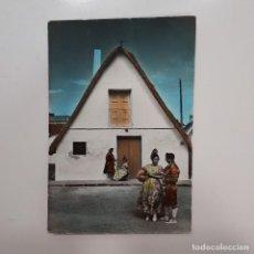 Postales: POSTAL VALENCIA BARRACA TIPICA 10 X 15 ESCRITA 1961 SIN CIRCULAR RARA EDICIONES FISA 24 FOTO ALFONSO. Lote 275133783