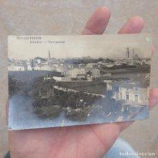 Postales: ANTIGUA POSTAL DE GANDIA , VISTA GENERAL , FECHADA 1928. Lote 275308853