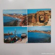Postales: POSTAL ISLA DE TABARCA PLAYA PUERTO MURALLA (ALICANTE) SIN ESCRIBIR SIN CIRCULAR PAPISA. Lote 275754453