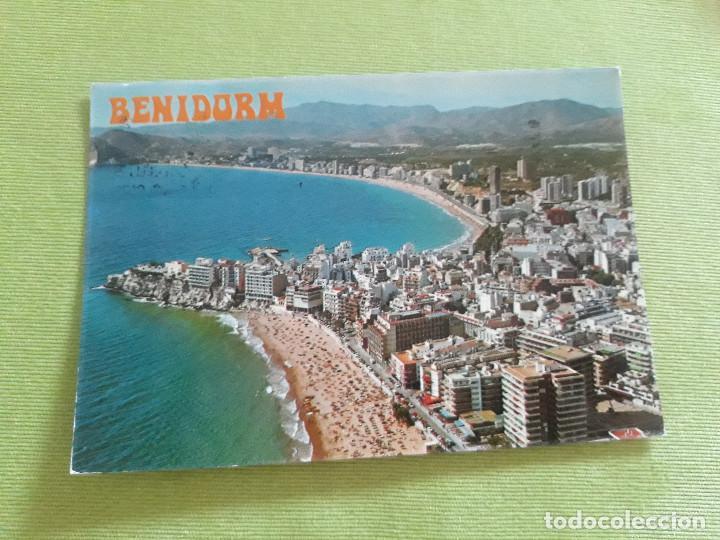 Nº 149 - BENIDORM (ESPAÑA) - VISTA AÉREA (Postales - España - Comunidad Valenciana Moderna (desde 1940))