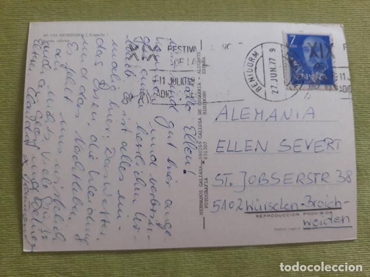 Postales: Nº 149 - Benidorm (España) - Vista Aérea - Foto 2 - 276147573