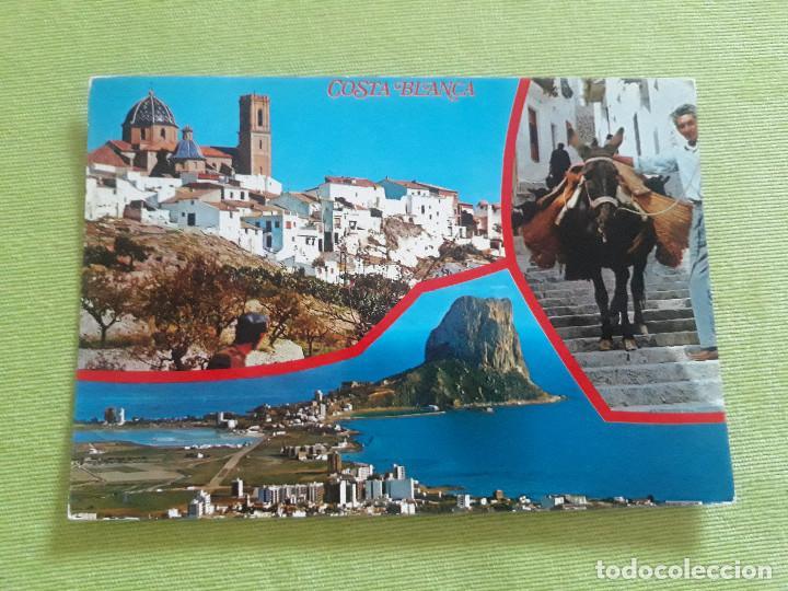 5 - COSTA BLANCA (ALICANTE) ESPAÑA. (Postales - España - Comunidad Valenciana Moderna (desde 1940))