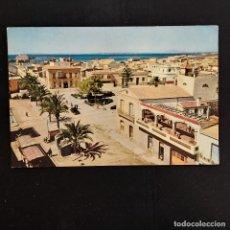 Postales: POSTAL SANTA POLA. VISTA PARCIAL (ALICANTE). CIRCULADA 1964. BONMATI Nº 802. RARA. Lote 277170473