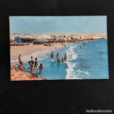 Postales: POSTAL SANTA POLA. PLAYA DE LEVANTE (ALICANTE). CIRCULADA 1964. BONMATI Nº 807. RARA. Lote 277170813