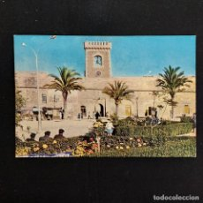 Postales: POSTAL SANTA POLA. GLORIETA Y CASTILLO (ALICANTE). ESCRITA 1963. BONMATI Nº 803. Lote 277176593