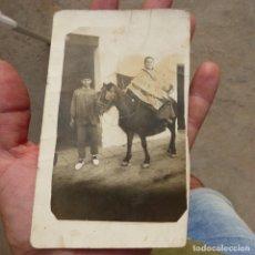 Postales: ANTIGUA POSTAL FOTOGRAFICA TIPICA ESTAMPA VALENCIANA DE PRINCIPIOS DE S XX. Lote 277190868