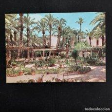 Postales: POSTAL ELCHE. HUERTO DEL CURA.VIVEROS (ALICANTE). SIN ESCRIBIR. GARRABELLA Nº 14 1964. Lote 277251998