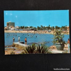 Postales: POSTAL TORREVIEJA. PLAYA DE LOS LOCOS (ALICANTE). ESCRITA 1968. GUILERA 21. Lote 277256883