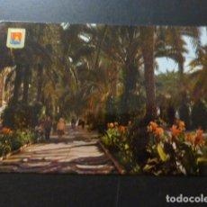 Postales: ALICANTE EXPLANADA DE ESPAÑA Y JARDINES. Lote 277301618