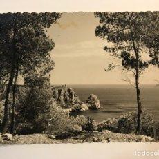 Postales: JÁVEA (ALICANTE) POSTAL NO.803, VISTA PARCIAL. FOTO SANCHEZ., (A.1960) DEDICADA... Lote 277308593