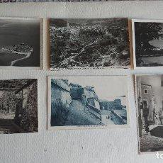 Postales: R-151.- LOTE DE -- 6 -- POSTALES DE LA PROVINCIA DE CASTELLON , DIVERSAS LOCALIDADES , VER FOTOS. Lote 277650788