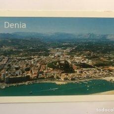 Postales: DENIA (ALICANTE) POSTAL NO.2, VISTA AÉREA, EDIC., HNOS. GALIANA (H.1990?) S/C. Lote 277655663
