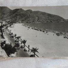 Postales: POSTAL BENIDORM PLAYA DE LEVANTE FOTOS GALIANA 1960. Lote 278161328