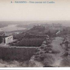 Postales: VALENCIA, SAGUNTO VISTA PARCIAL DEL CASTILLO. ED. JOSE PELLICER Nº 8, FOTO J. NACHER. FOTOGRAFICA. Lote 278409708