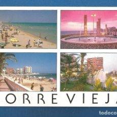 Postales: POSTAL CIRCULADA TORREVIEJA 1162 (ALICANTE) EDITA EDICIONES 07. Lote 278630143