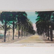 Postales: ANTIGUA POSTAL COLOREADA DE ALICANTE Nº 44 - PASEO DE LOS MARTIRES - L. ROISIN BARCELONA AÑOS 20. Lote 279448088