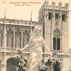 Postales: EA514 VALENCIA EXPOSICION REGIONAL VALENCIANA FUENTE DEL AMOR THOMAS Nº101. Lote 279560503