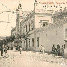 Postales: EA524 VALENCIA PARQUE DE ARTILLERIA THOMAS Nº122 SOLDADOS. Lote 279561618