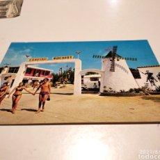 Postales: POSTAL CAMPING BOCHIOT SANTA POLA. Lote 280119713