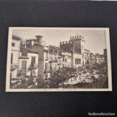 Postales: ANTIGUA POSTAL HUECOGRABADO VALENCIA JDP - LONJA PLAZA DEL MERCADO (AÑOS 40 O 50). Lote 285470293