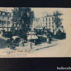 Postales: ALICANTE PLAZA DE LA CONSTITUCION. Lote 285994598
