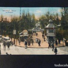 Postales: VALENCIA PARQUE DE CASTELAR. Lote 285997418