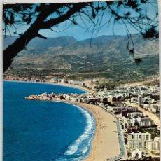 Postales: ALICANTE, BENIDORM VISTA GENERAL. HNOS GALIANA. 1965 CIRCULADA. SELLO JUDO. Lote 286319538